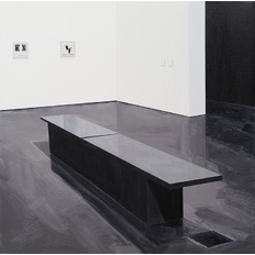 Sarah McKenzie Black Bench (MCA Denver with Paul Sietsema, 2014)