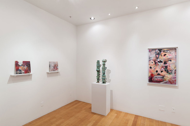 Donald Fodness - Installation view