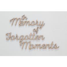 Tobias Fike In Memory of Forgotten Moments