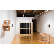 Mike Womack Installation view