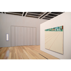 Sarah McKenzie Exhibition Space (Whitney Museum with Laura Owens, 2018)