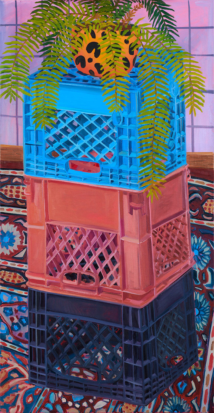 Anna Valdez - Milk Crate and Fern