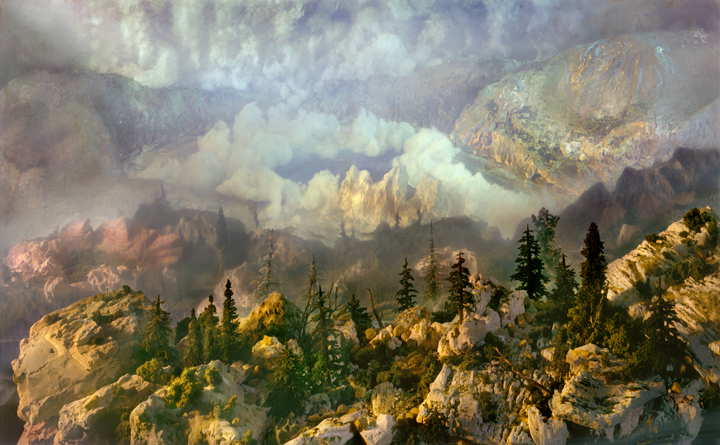 Kim Keever - West 104k